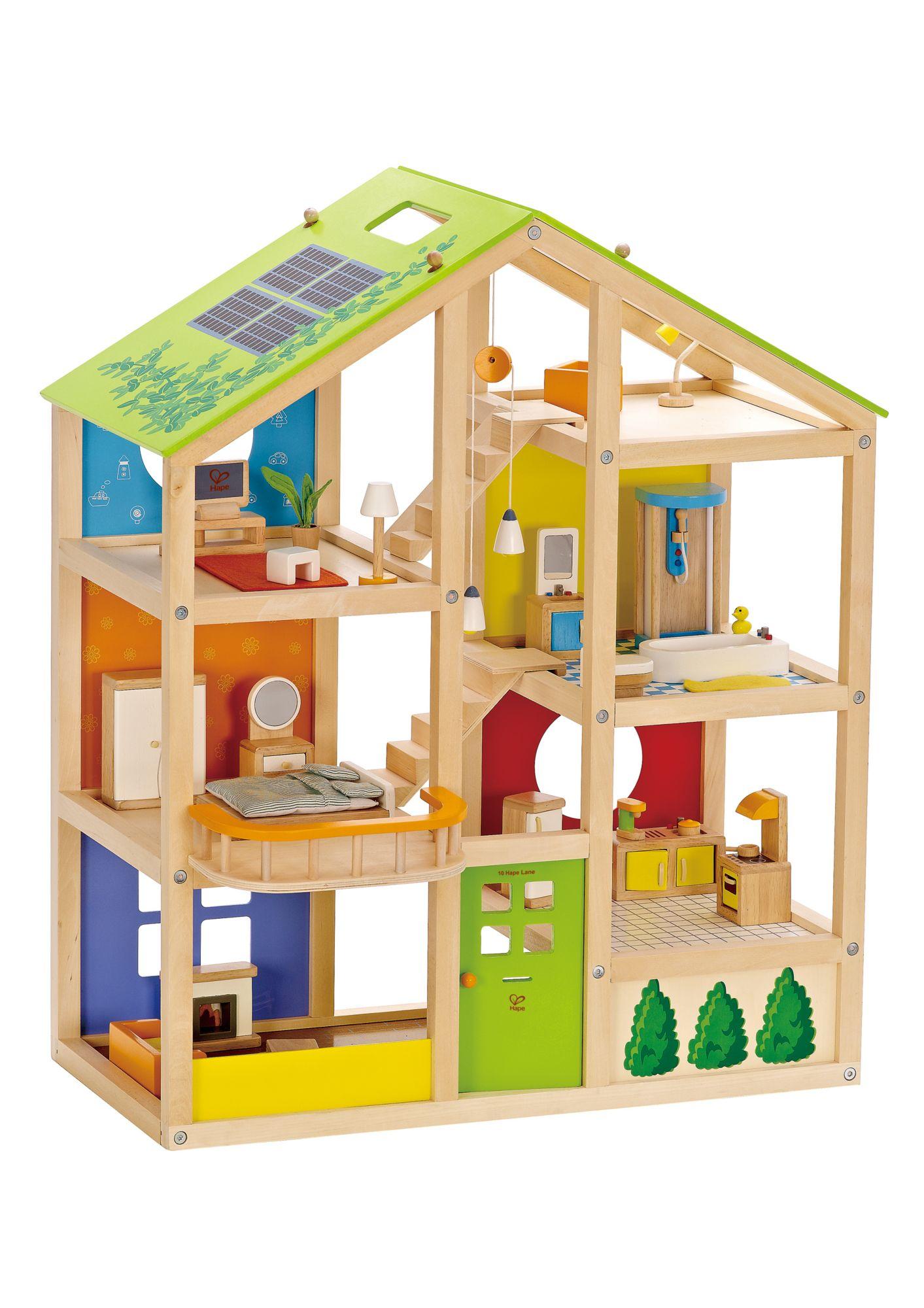 HAPE Hape Puppenhaus, »Vierjahreszeiten« (35-tlg.)