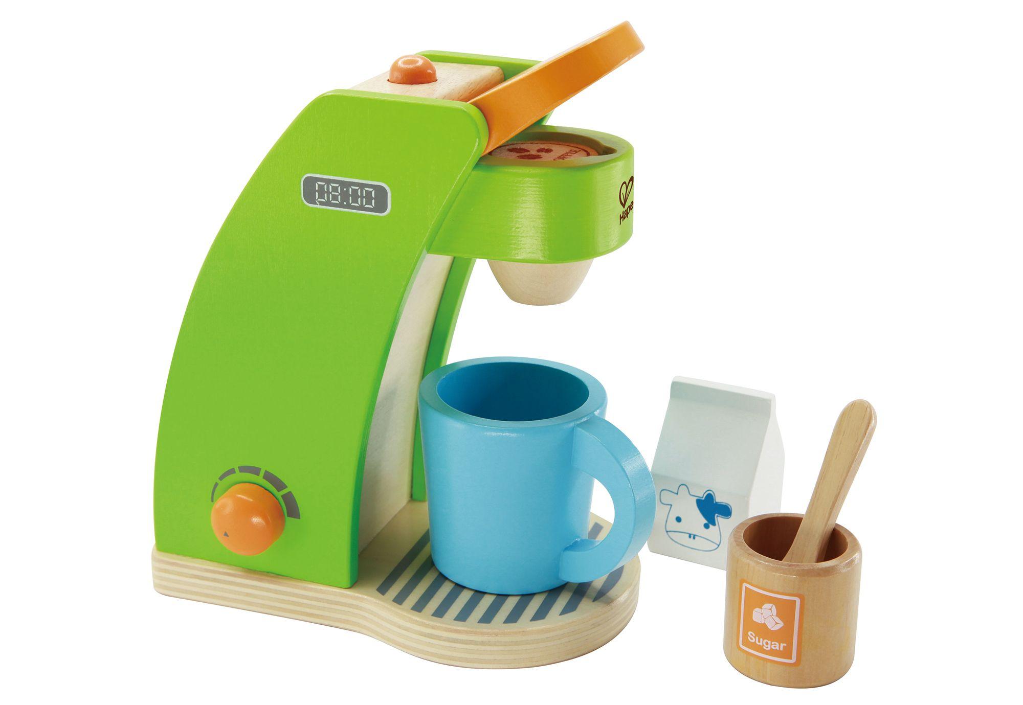 HAPE Hape Set: Kinder-Kaffeemaschine, (6tlg.)