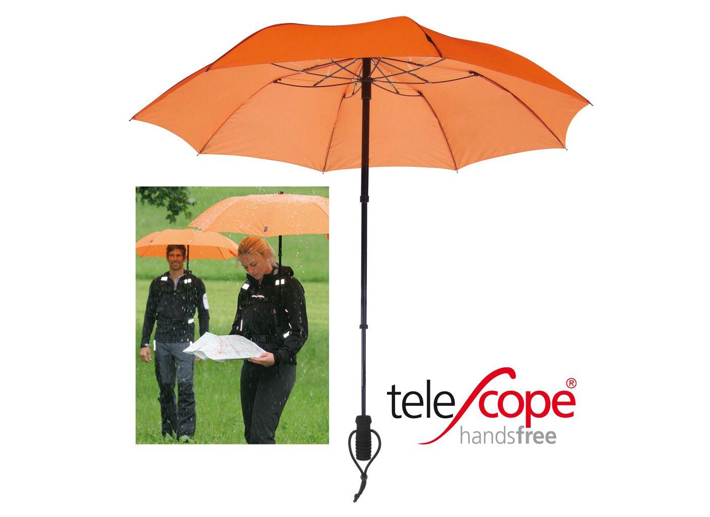 EUROSCHIRM® Euroschirm® Regenschirm, »teleScope handsfree«