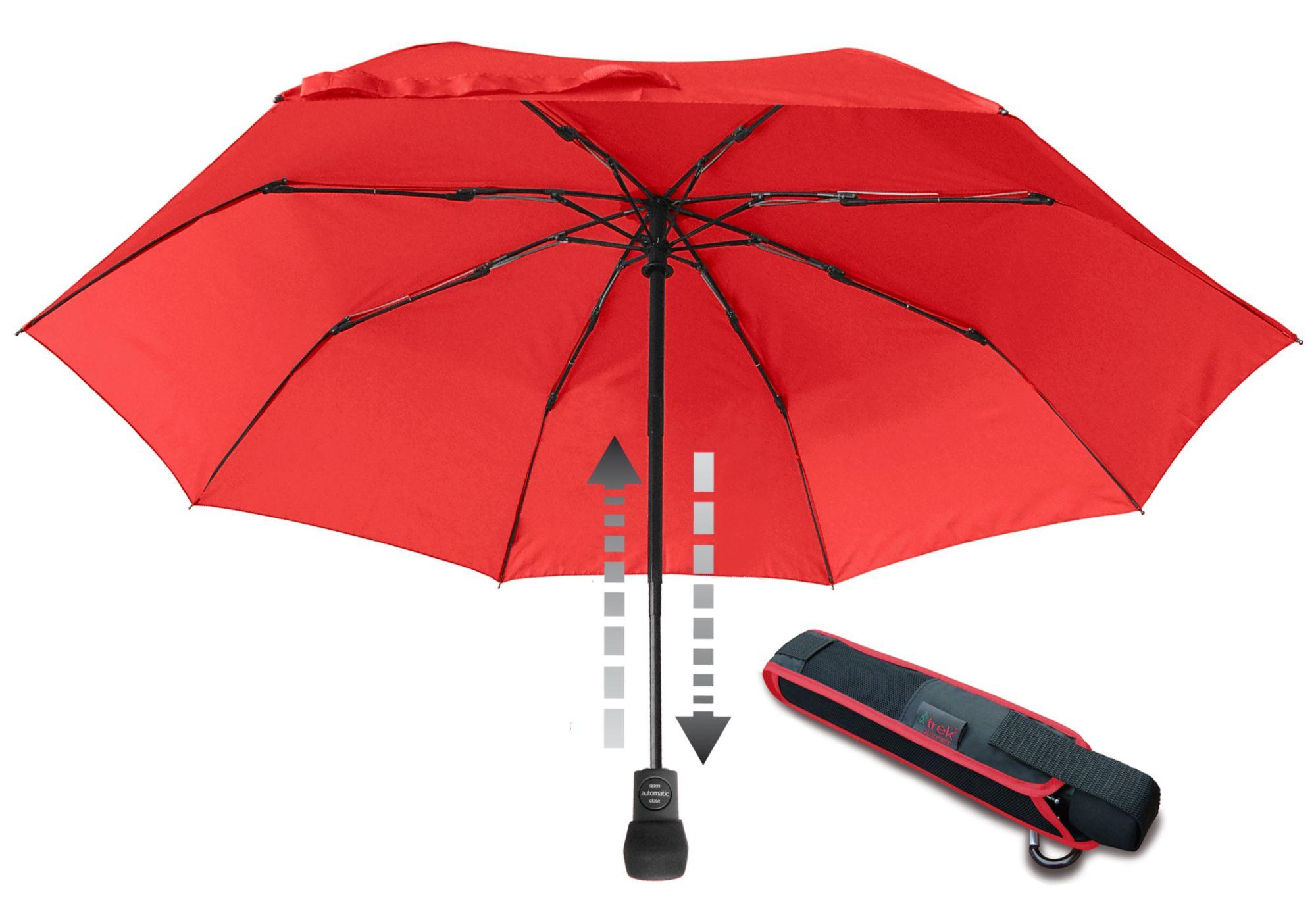 EUROSCHIRM® Euroschirm® Regenschirm - Taschenschirm, »light trek automatic Taschenschirm«