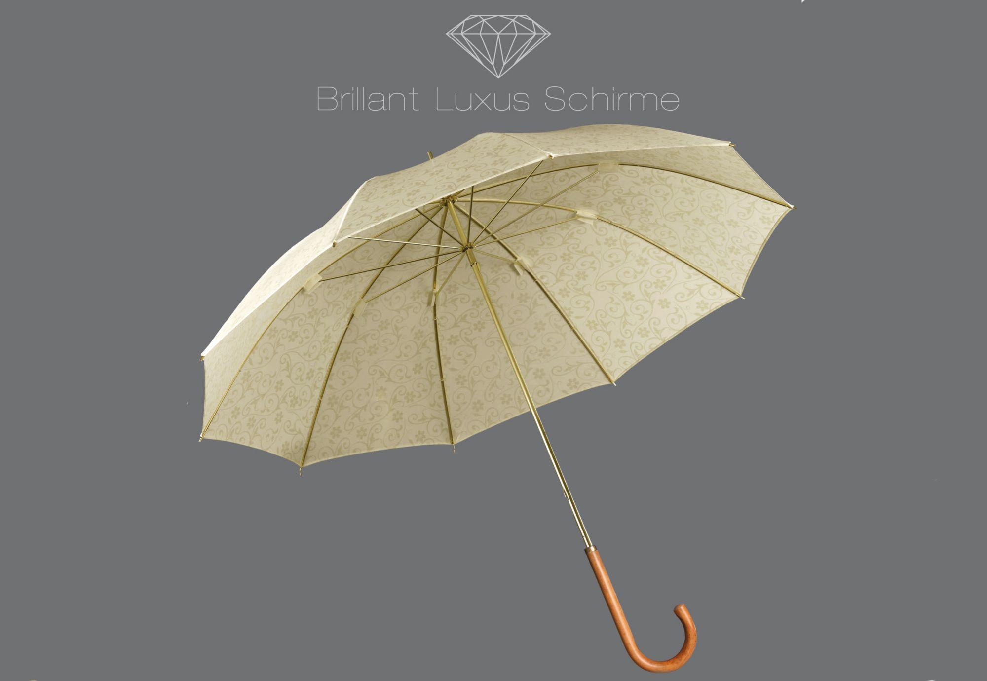 EUROSCHIRM® Euroschirm® Regenschirm, »Brillant Luxus Damenschirm«
