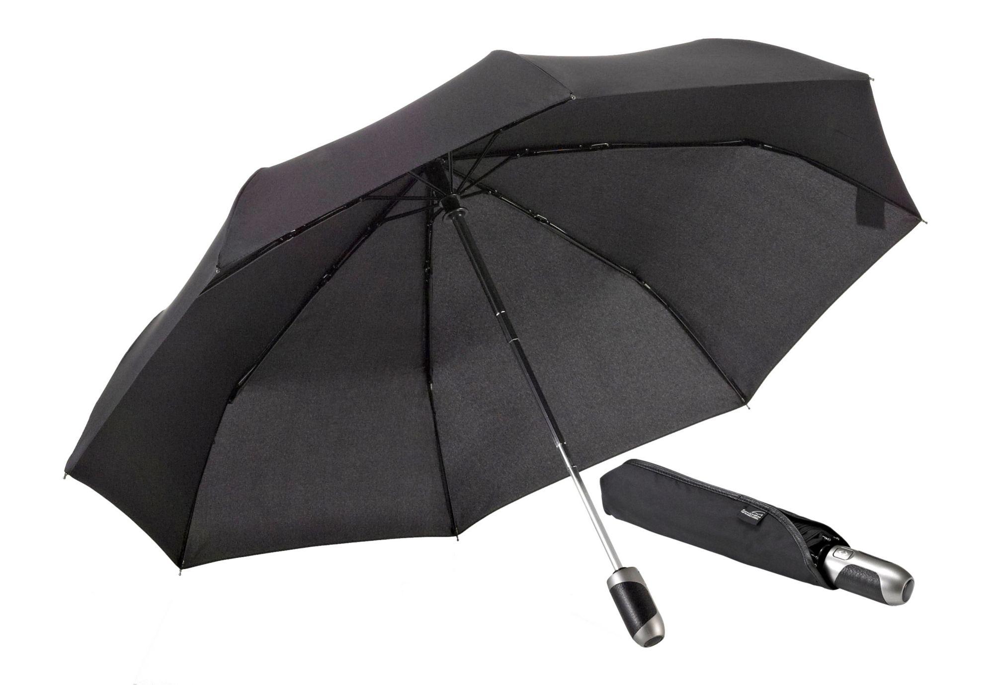 EUROSCHIRM® Euroschirm® Regenschirm mit Elchleder, »One For All - Elchleder-Taschenschirm«