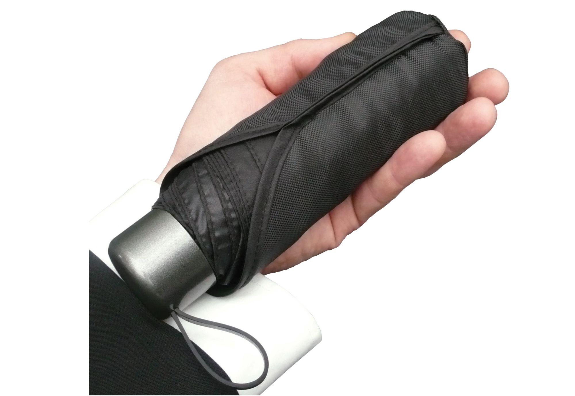 EUROSCHIRM® Euroschirm® Regenschirm für Damen und Herren, »Der kleine Riese - Mini-Taschenschirm«