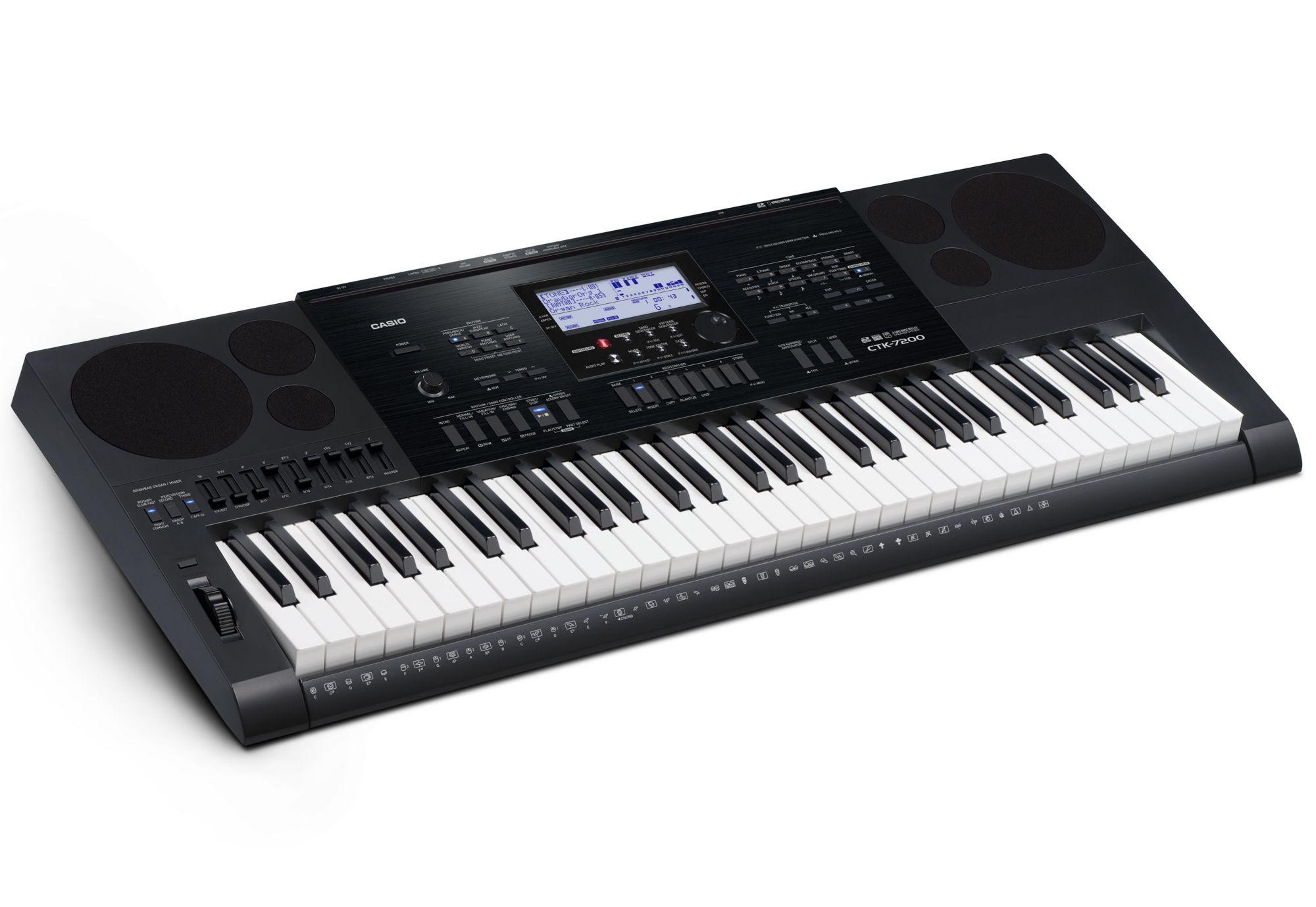 CASIO Casio® Keyboard, »CTK-7200 inkl. Netzteil u. Notenhalter«