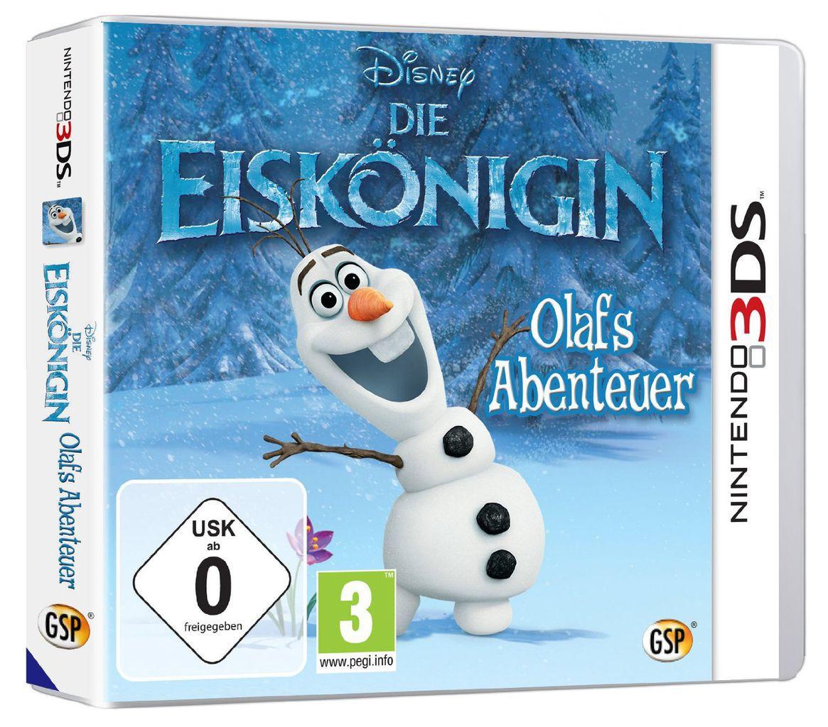 DISNEY Die Eiskönigin: Olafs Abenteuer Völlig unverfroren (3DS)