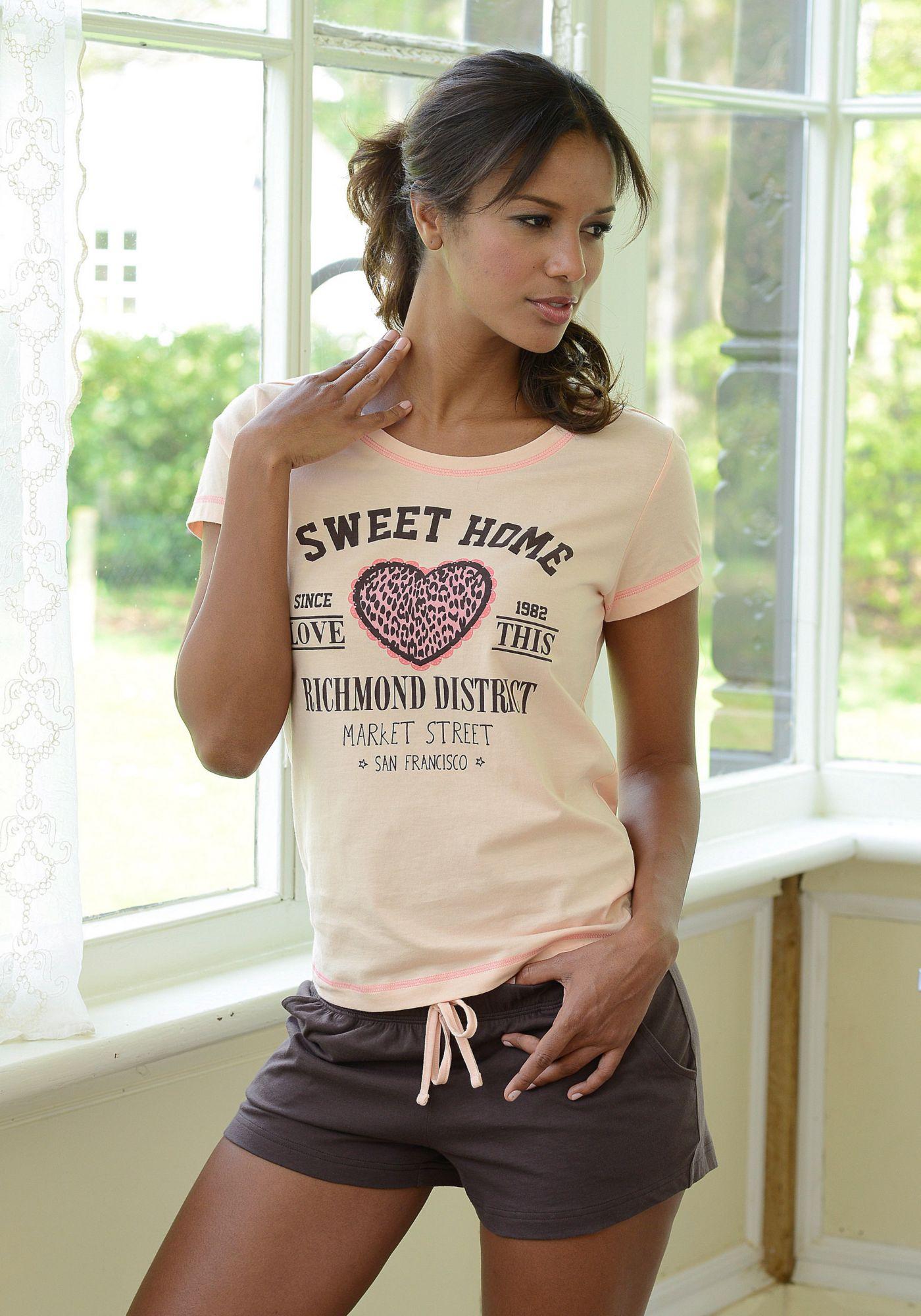 KangaROOS Shorty mit »Sweet Home«-Print