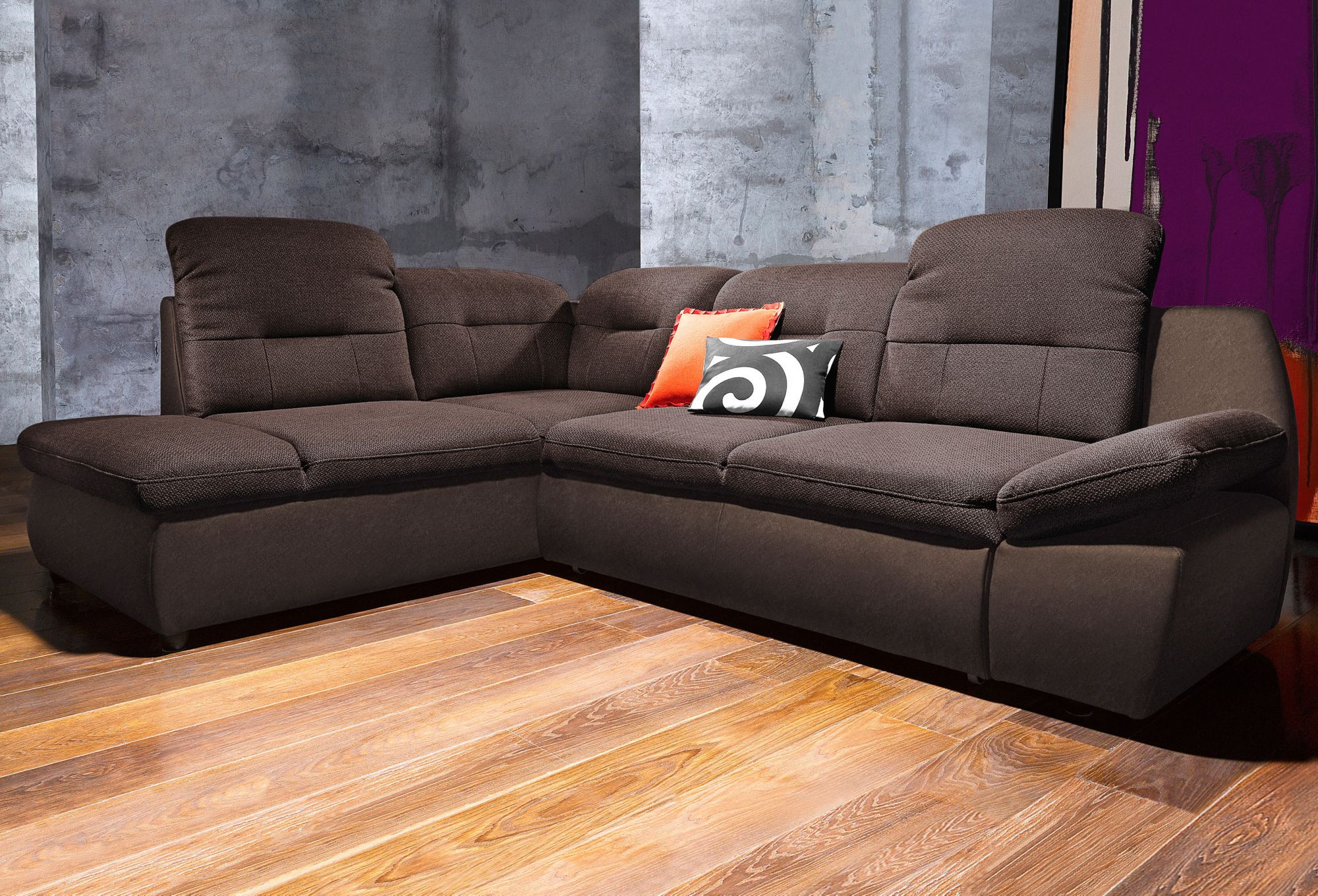 CITY SOFA Polsterecke, City Sofa, wahlweise mit Bettfunktion
