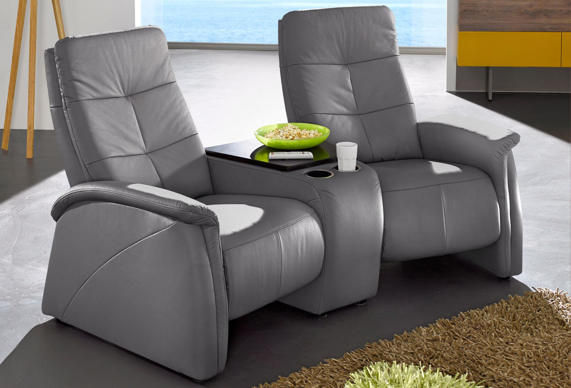 2-Sitzer, City Sofa, mit Relaxfunktion