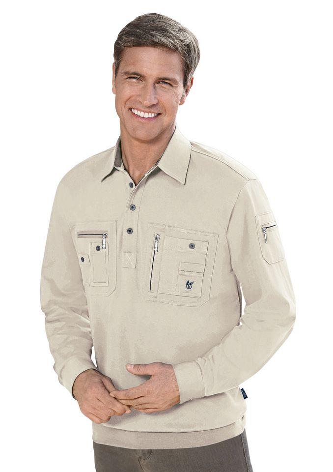 HAJO Hajo Poloshirt mit feuchtigkeitsregulierender Eigenschaft