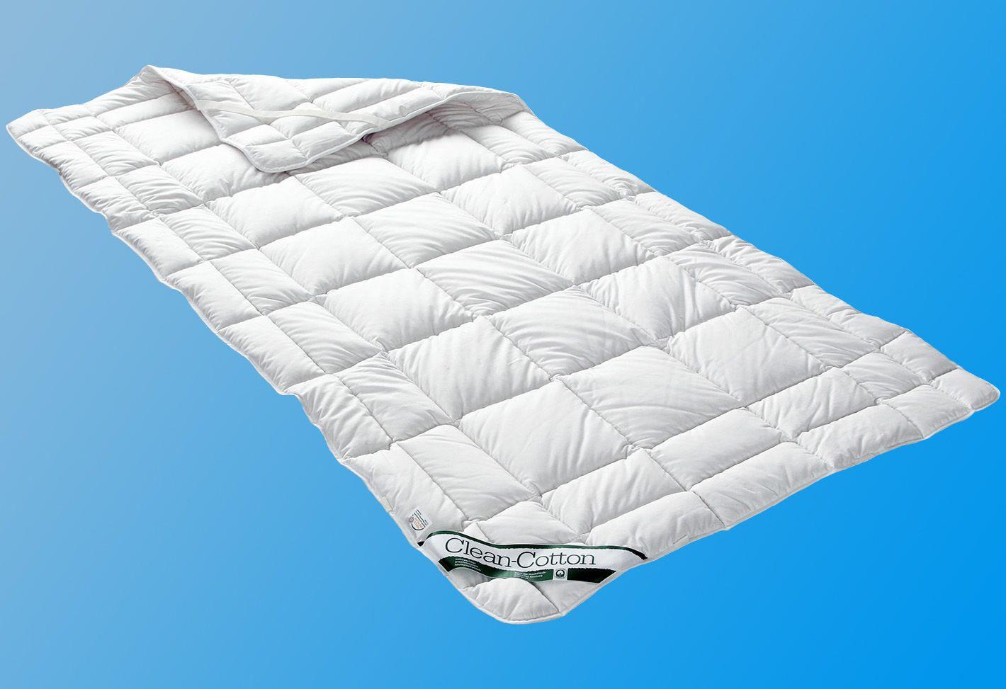 BADENIA Matratzenauflage, »Unterbett Clean Cotton«, Badenia