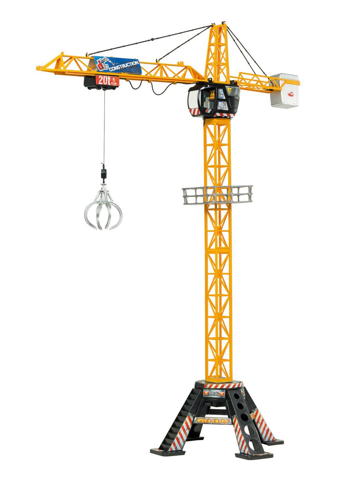 DICKIE TOYS Dickie Toys Kran mit Kabelsteuerung »Mega-Kran«