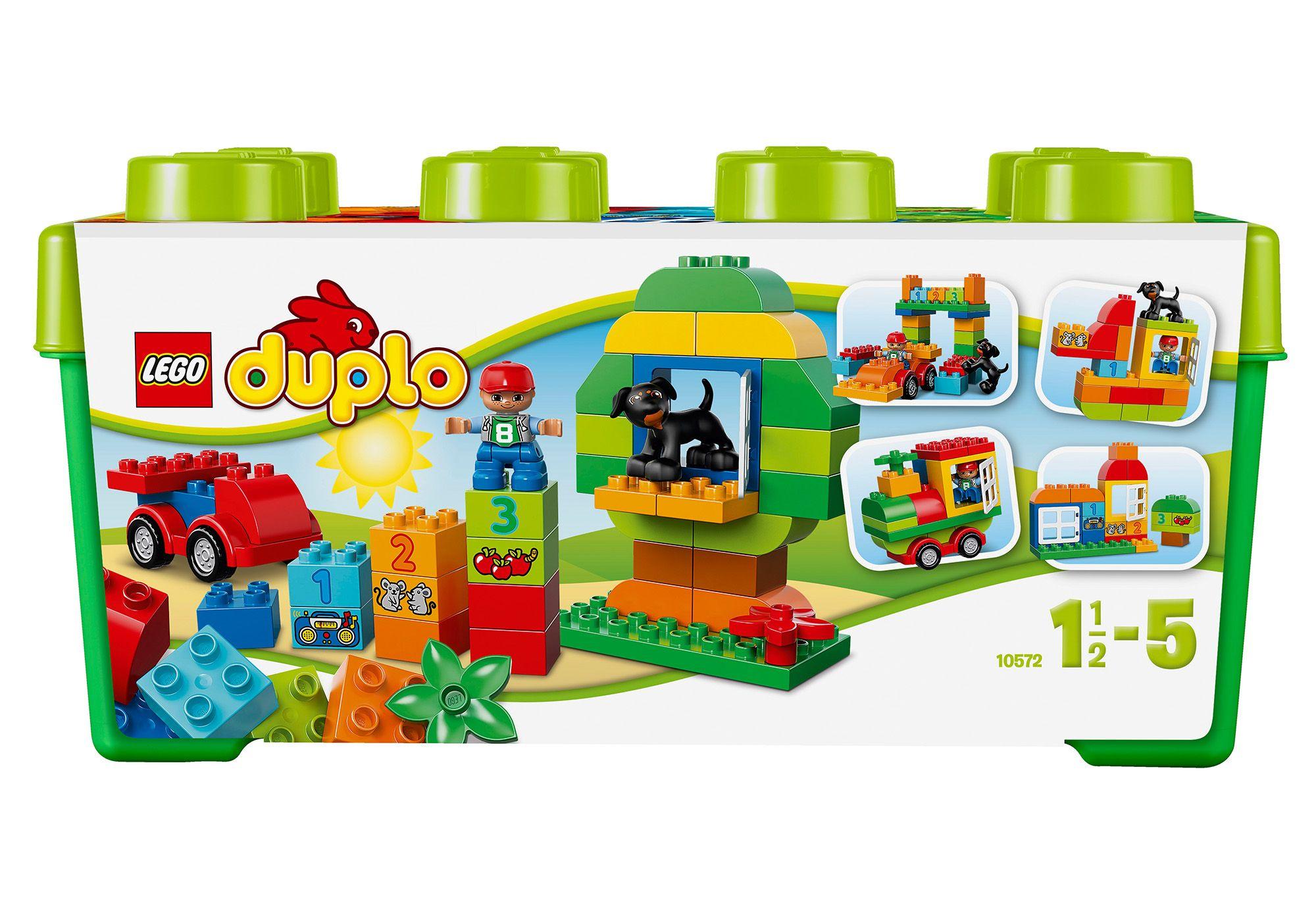 LEGO® 10572 DUPLO Große Steinbox, Konstruktionsspielzeug