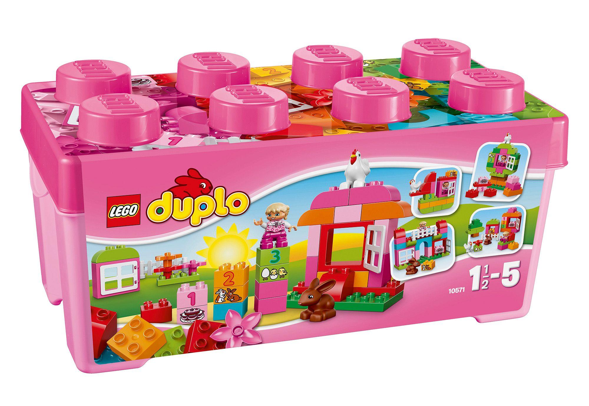 LEGO® 10571 DUPLO Große Steinebox Mädchen, Konstruktionsspielzeug