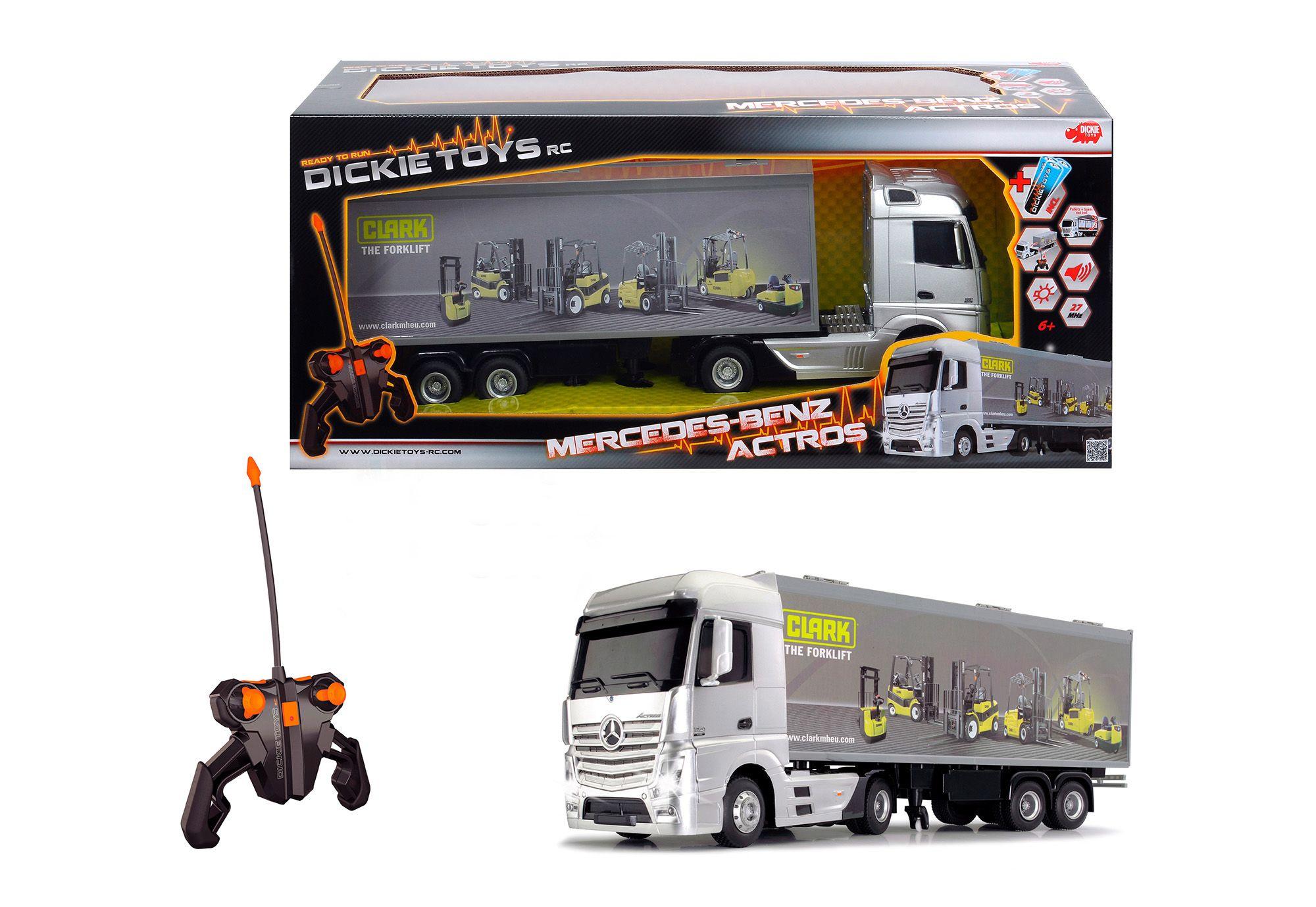 DICKIE TOYS Dickie Toys RC-Fahrzeug mit Licht und Sound, »Mercedes Benz Actros«