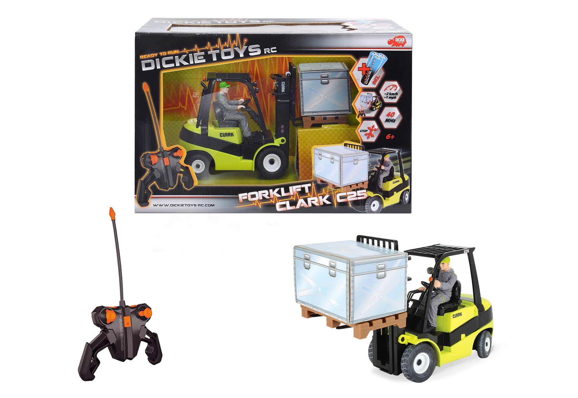 DICKIE TOYS Dickie Toys RC-Komplett-Set Gabelstapler, »Forklift C 25«