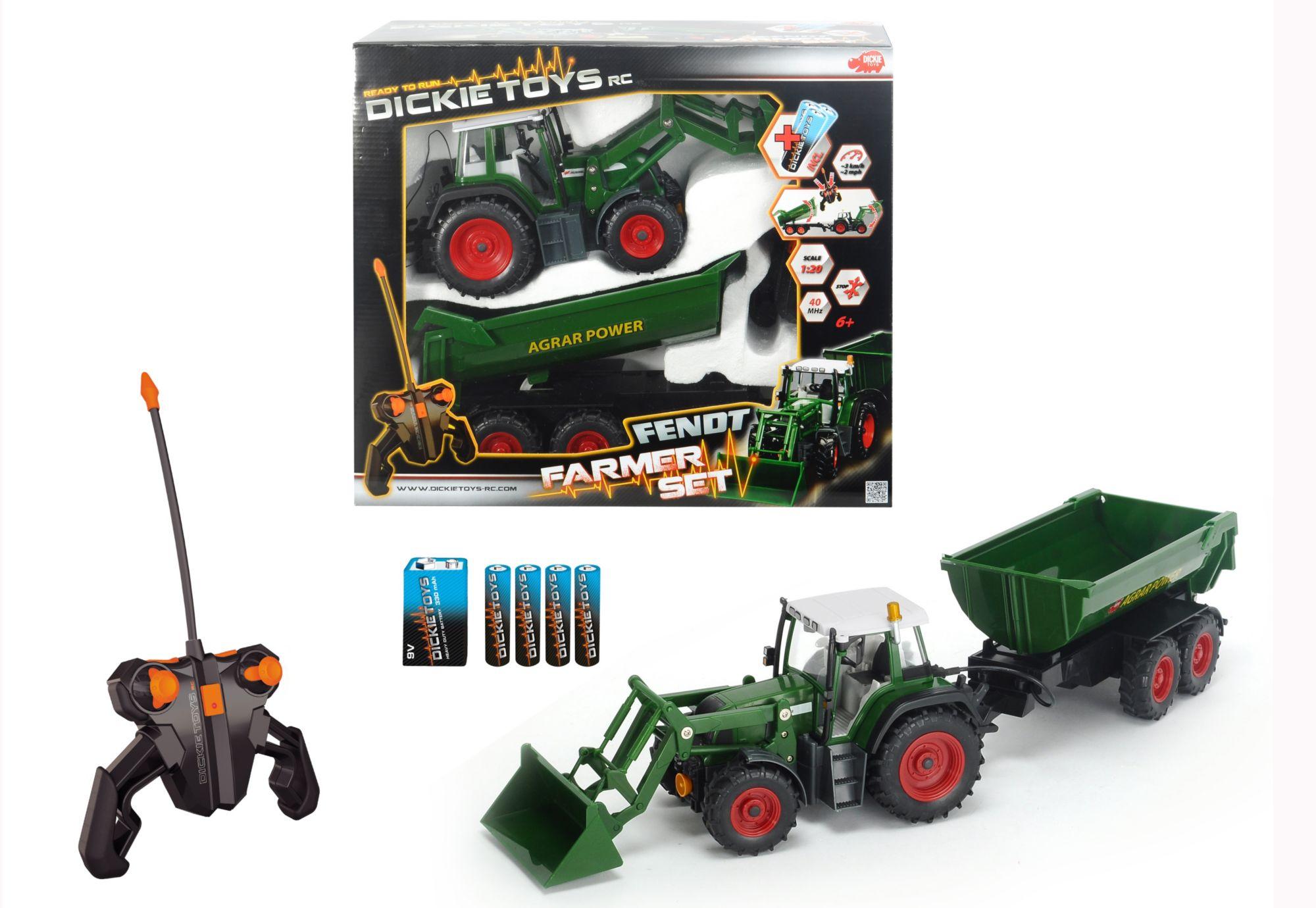 DICKIE TOYS Dickie Toys RC-Set Traktor, »Farmer Set«