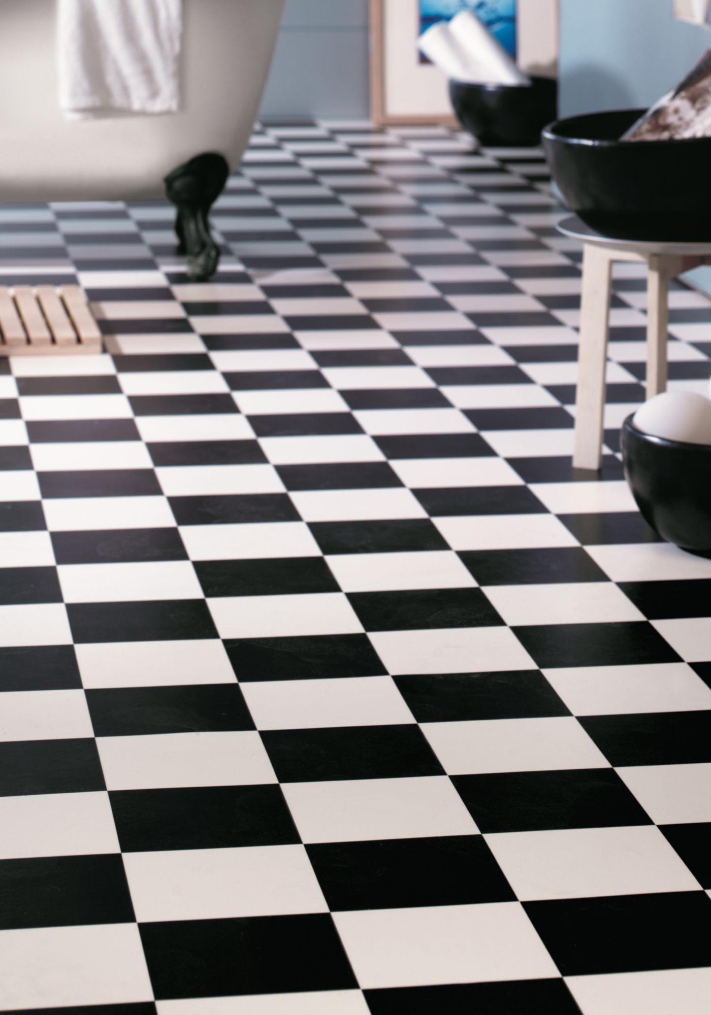 ANDIAMO Andiamo PVC-Boden »Bingo«, schwarz-weiß