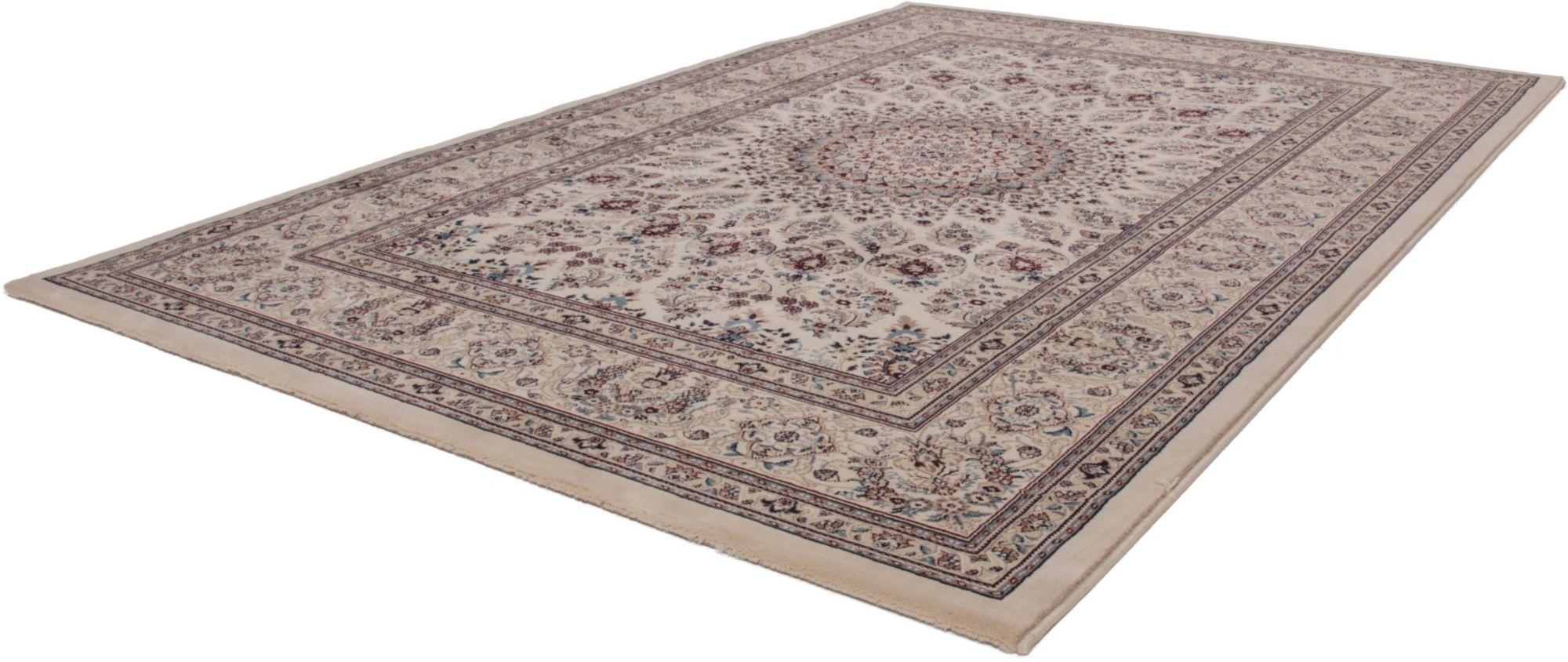 Orientteppich »Mashad 130«, Lalee, rechteckig, Höhe 15 mm, maschinell gewebt