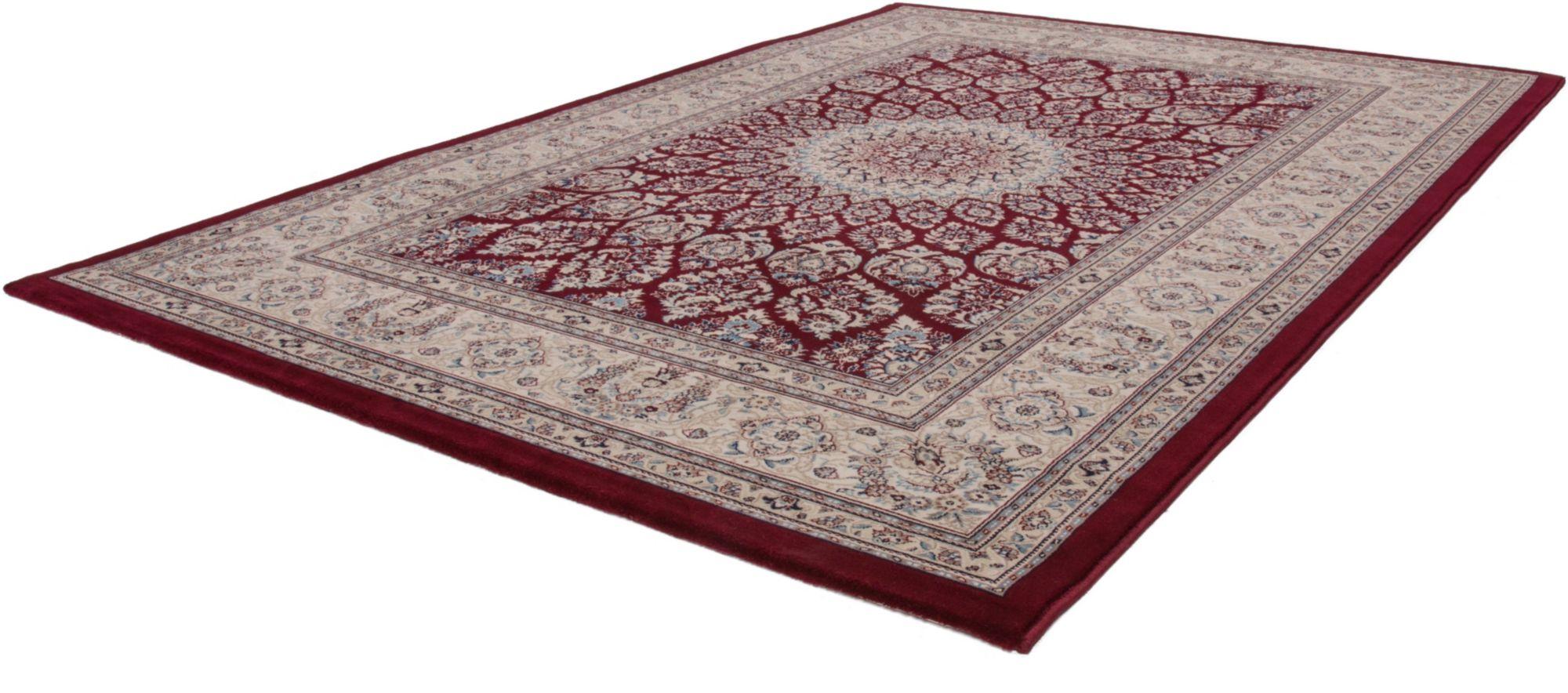Orientteppich, »Mashad 130«, Lalee, rechteckig, Höhe 15 mm, maschinell gewebt