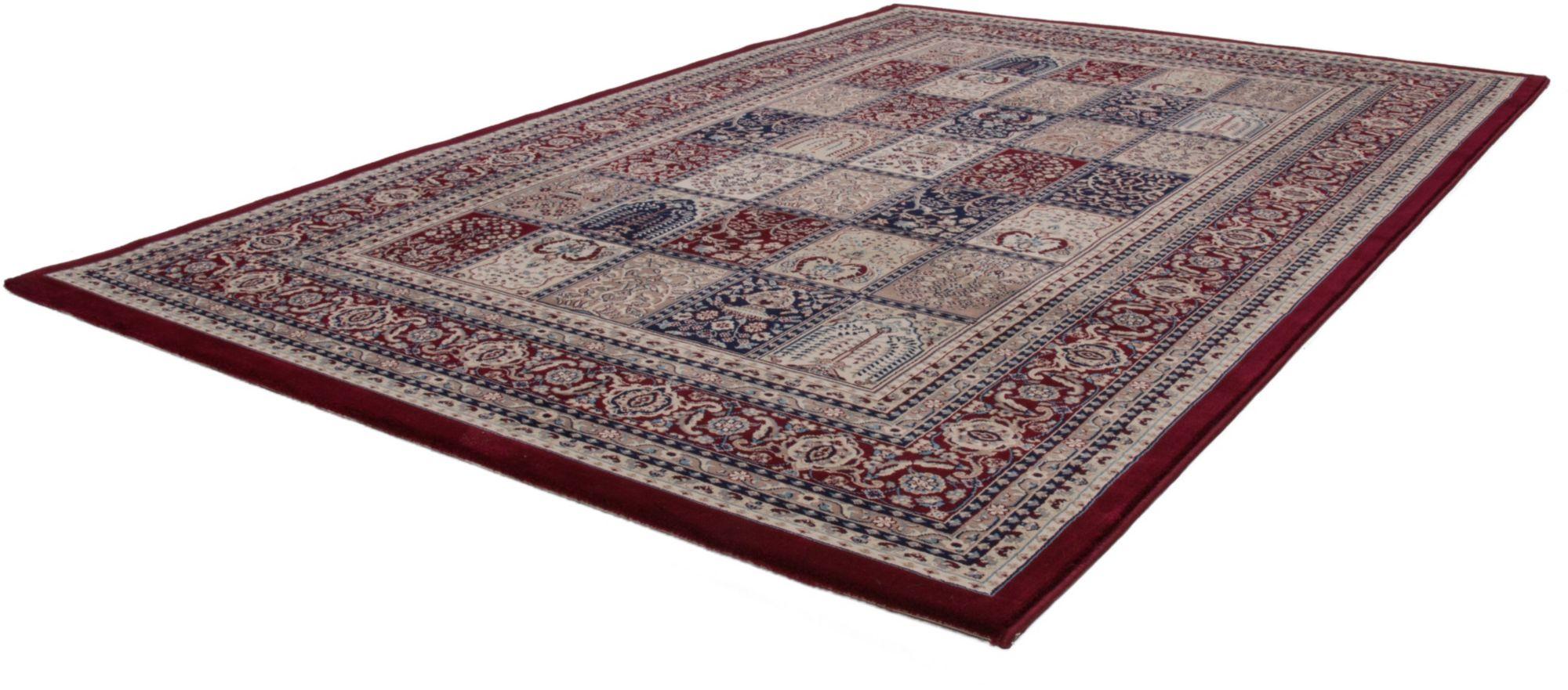 Orientteppich, »Mashad 132«, Lalee, rechteckig, Höhe 15 mm, maschinell gewebt