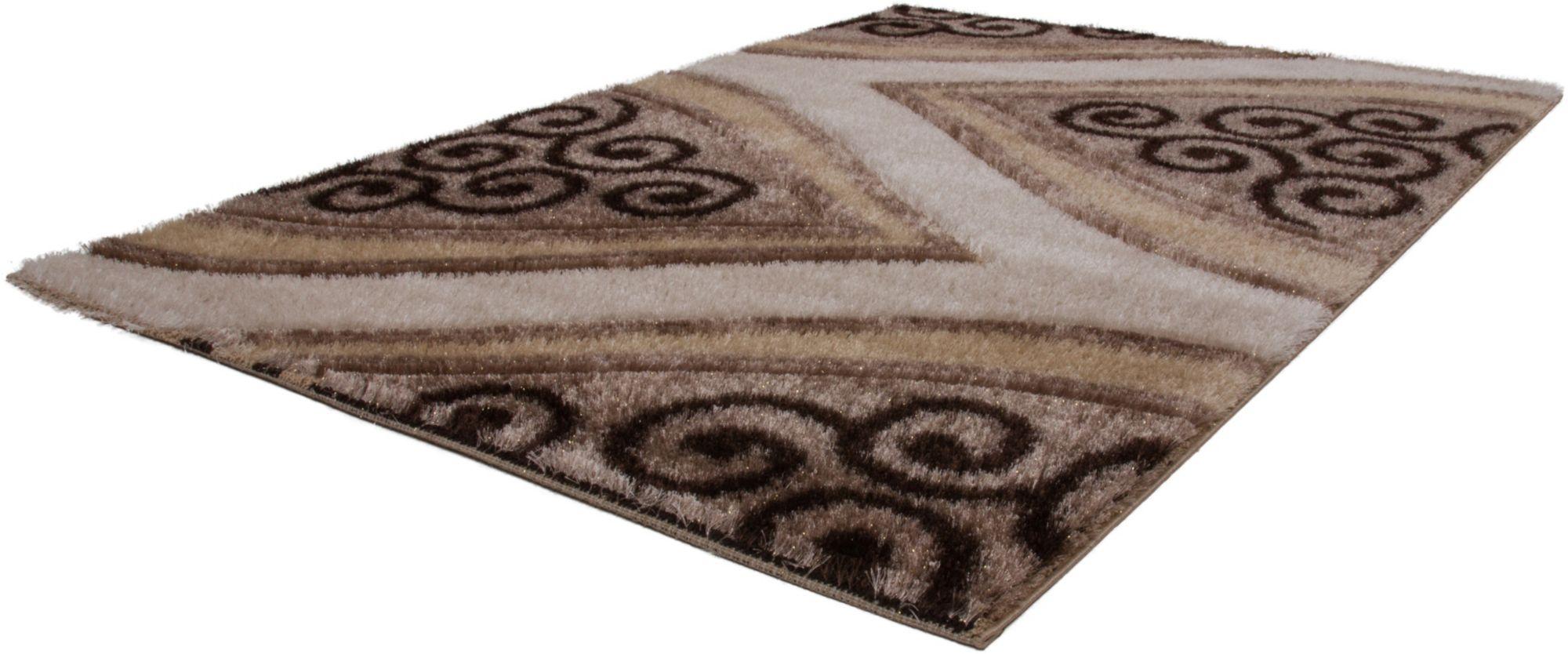 Hochflor-Teppich, »Sedef 820«, Lalee, rechteckig, Höhe 35 mm, maschinell gewebt
