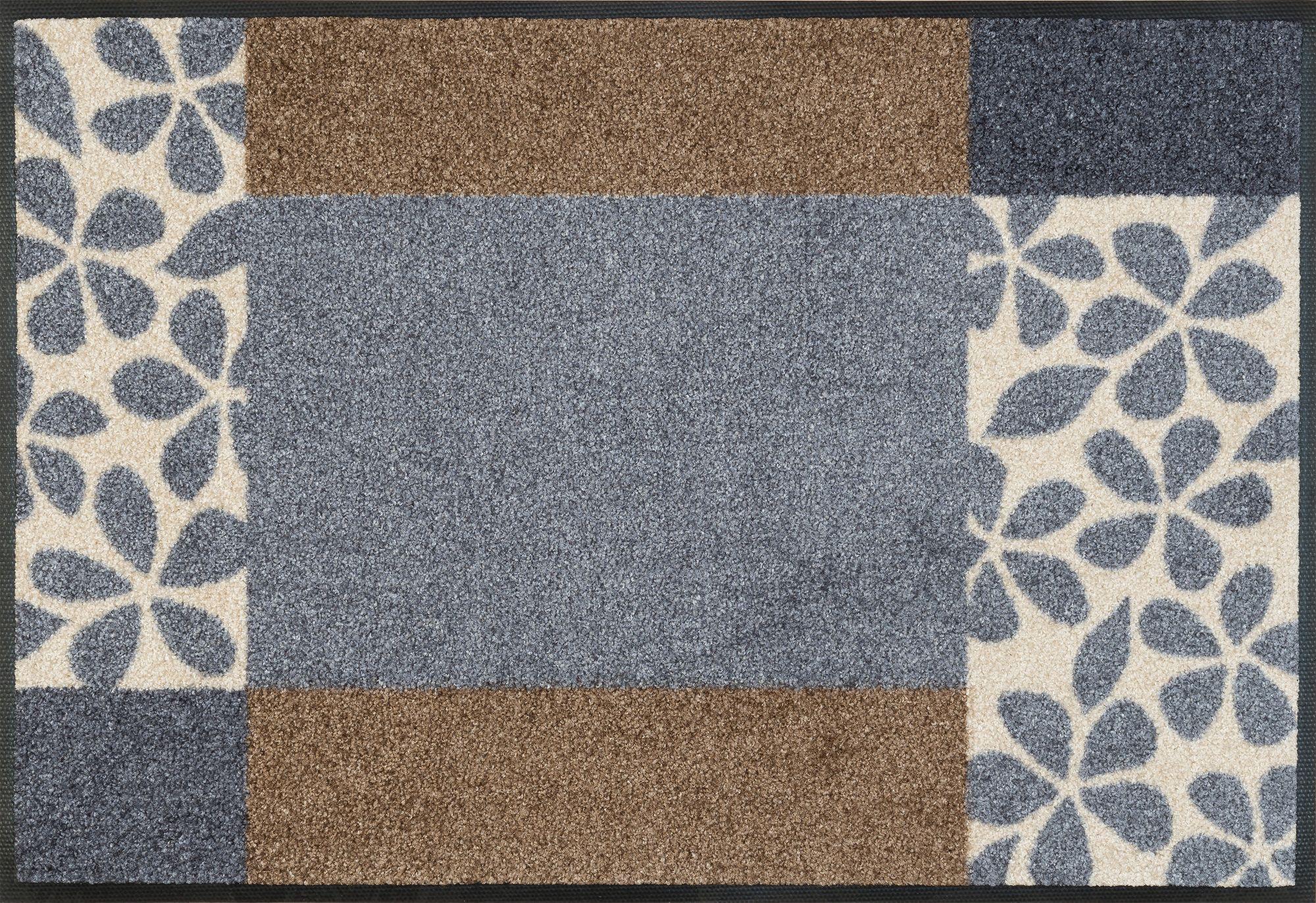 Fußmatte, »Florita«, wash+dry by Kleen-Tex, rechteckig, Höhe 7 mm, gedruckt