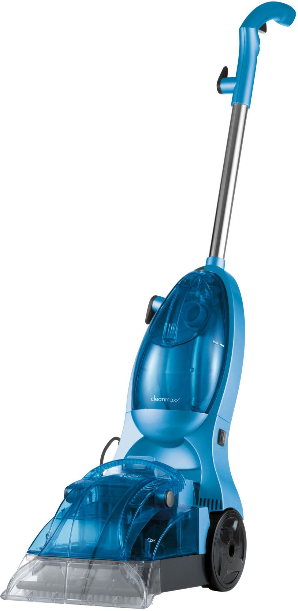 CLEAN MAXX cleanmaxx Teppichreiniger eisblau inkl. 500ml Teppichshampoo
