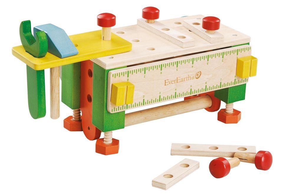 EVEREARTH 2-in-1 Werkzeugkasten und Werkbank, EverEarth®