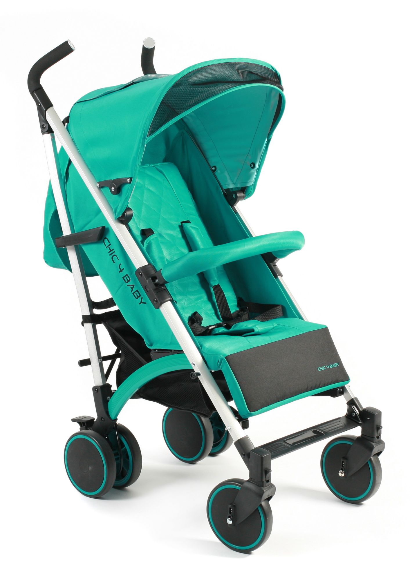 CHIC4BABY , Kinder-Buggy »Luca, mint«