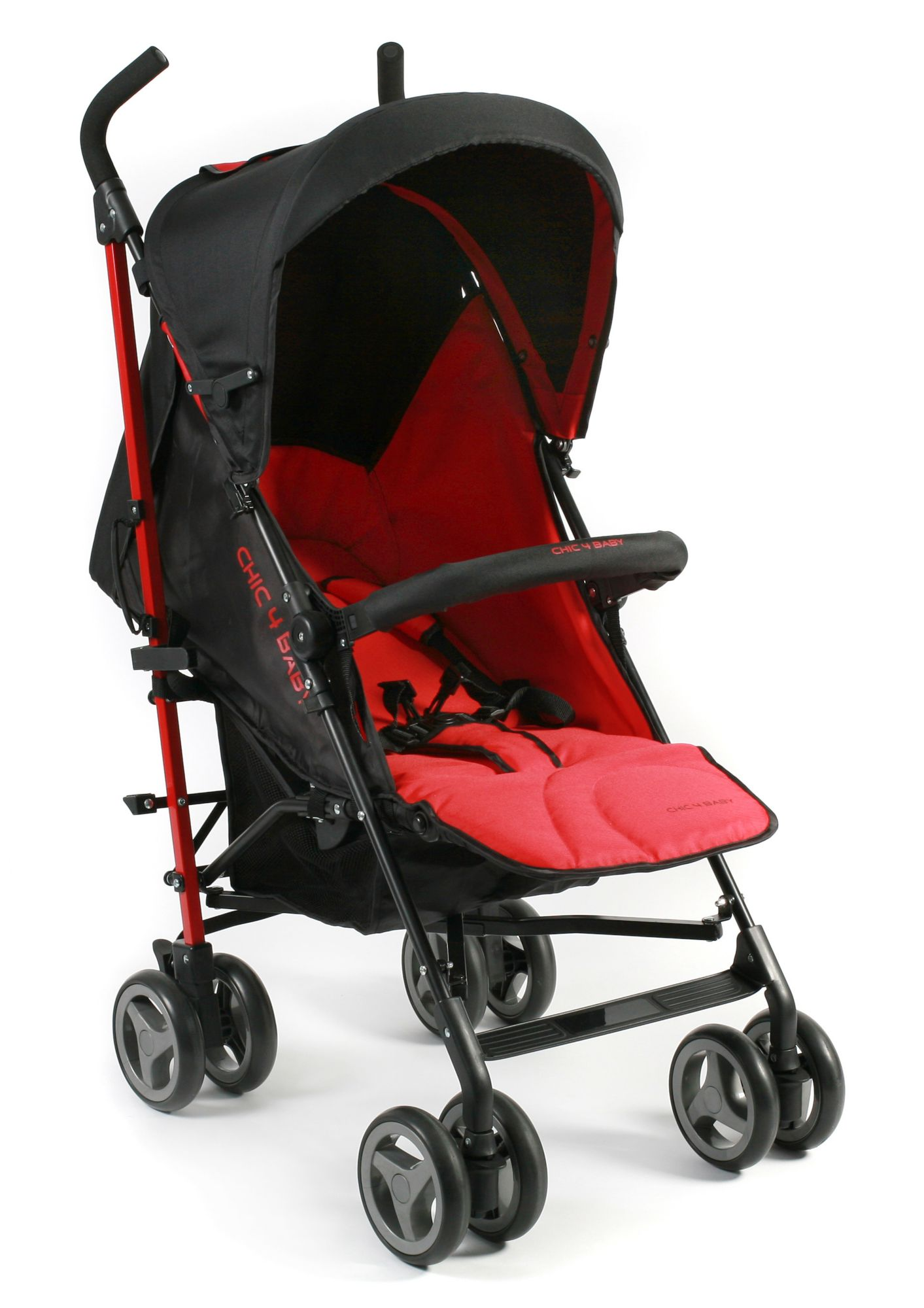 CHIC4BABY , Kinder-Buggy »Lido, rot«