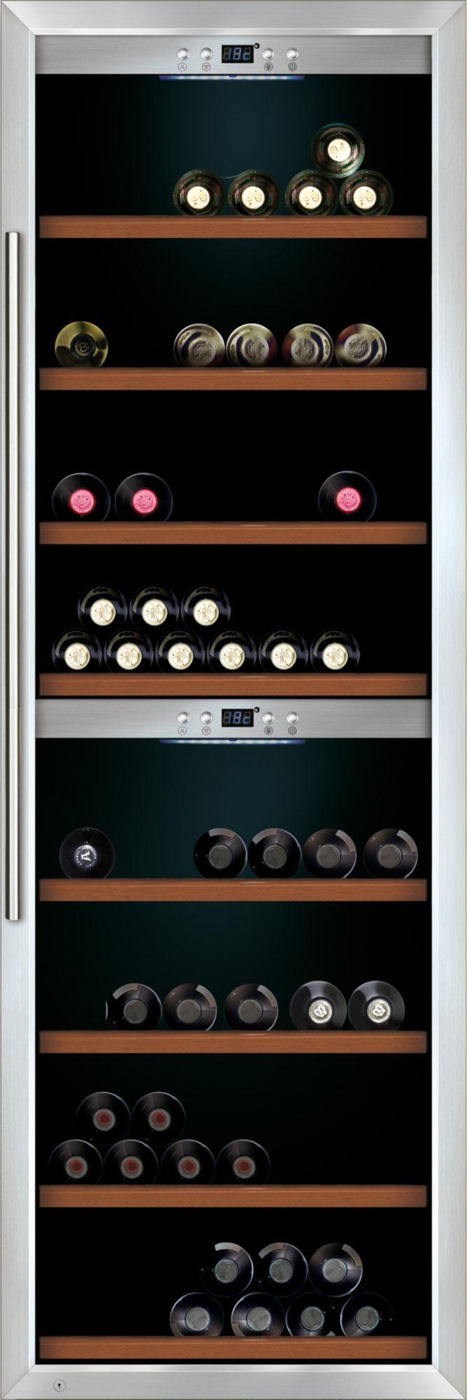 CASO DESIGN CASO Design Weinkühlschrank »WineMaster 180«, Höhe 186 cm, für 180 Bordeauxflaschen á 0,75l