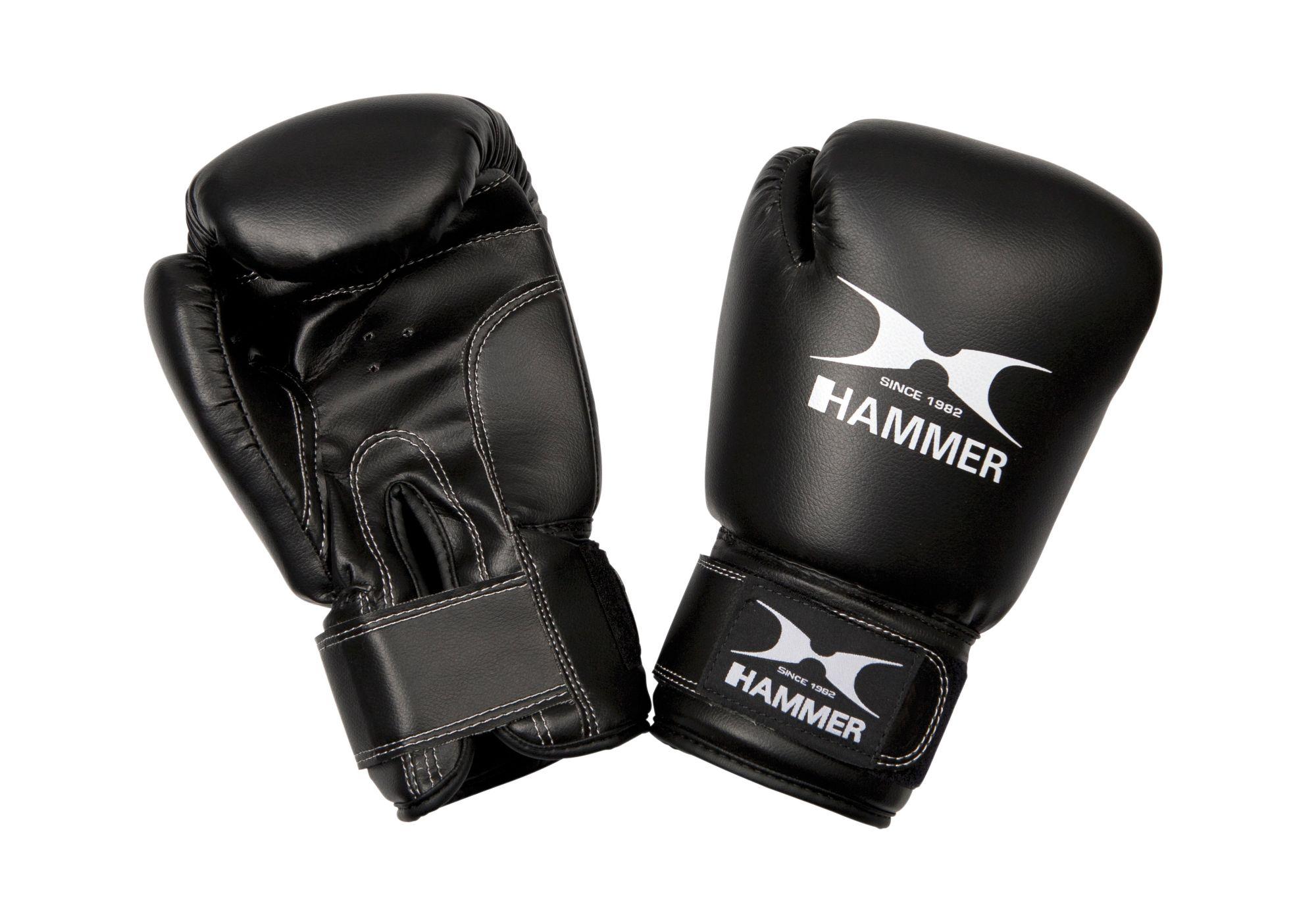HAMMER Boxhandschuhe, Hammer®, »Fit«, PU, schwarz