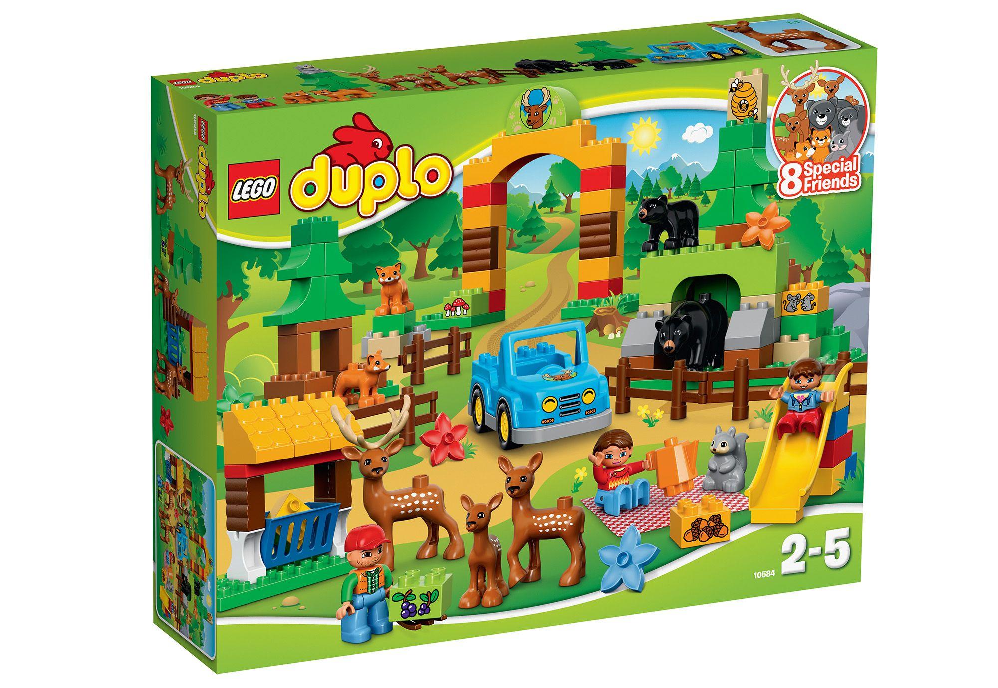LEGO® 10584 Duplo Wildpark, Konstruktionsspielzeug