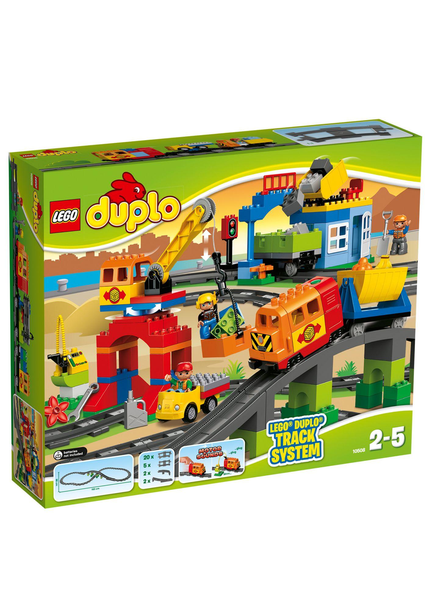 LEGO® 10508 DUPLO Eisenbahn Super Set, Konstruktionsspielzeug