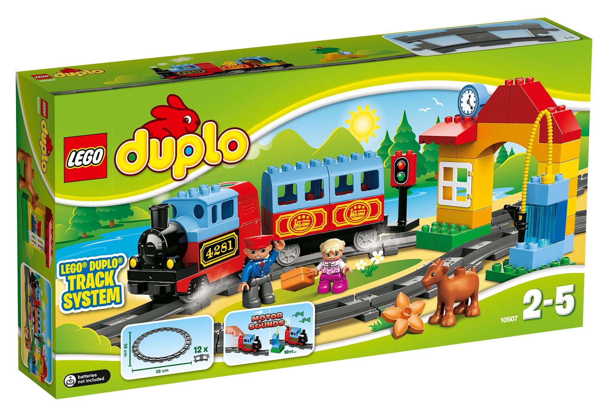 LEGO® 10507 DUPLO Eisenbahn Starter Set, Konstruktionsspielzeug