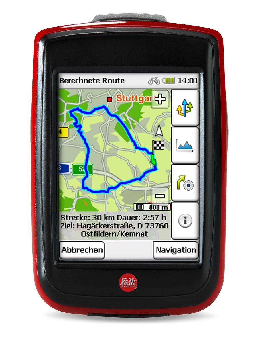 FALK Falk Fahrradnavigationsgerät »IBEX 32 DEU (2014) Inkl. Upgrade 5.0«