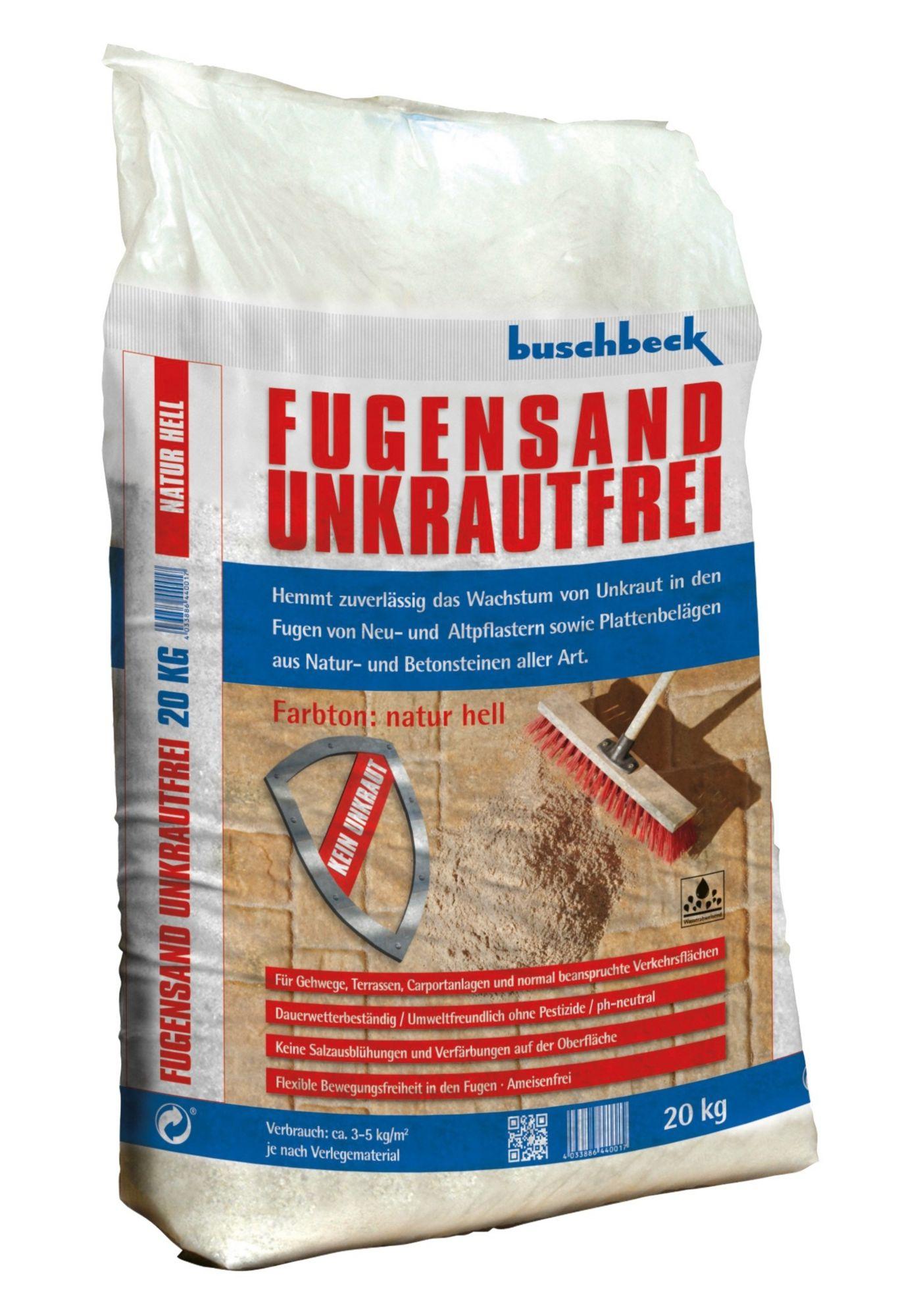 BUSCHBECK Buschbeck Fugensand Unkrautvernichter, beige