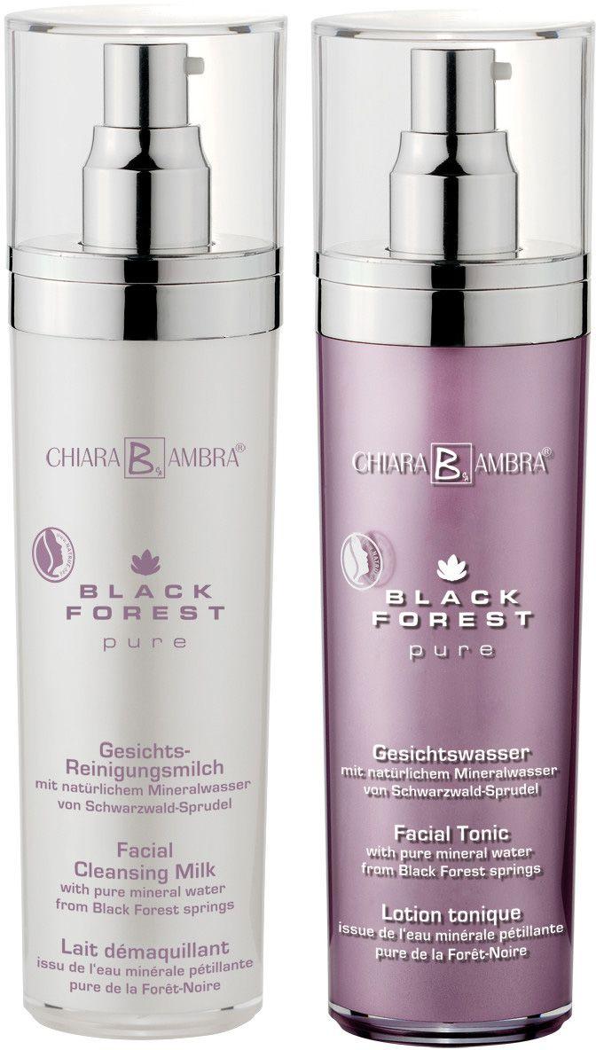 CHIARA AMBRA Chiara Ambra®, »Black Forest Pure«, veganes Gesichtsreinigungsset (2-tlg.)