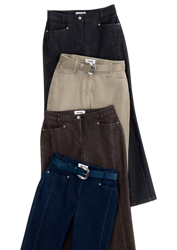 COSMA Cosma Jeans mit bewährter Cotton-Feeling-Ausrüstung