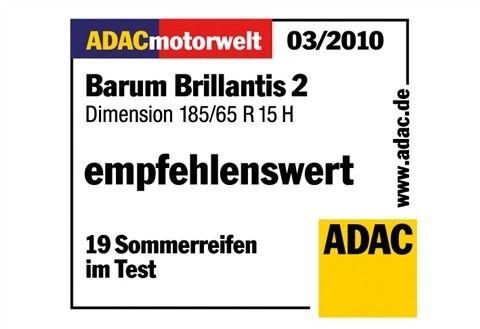 BARUM Sommerreifen »Barum Brillantis 2, 175mm«