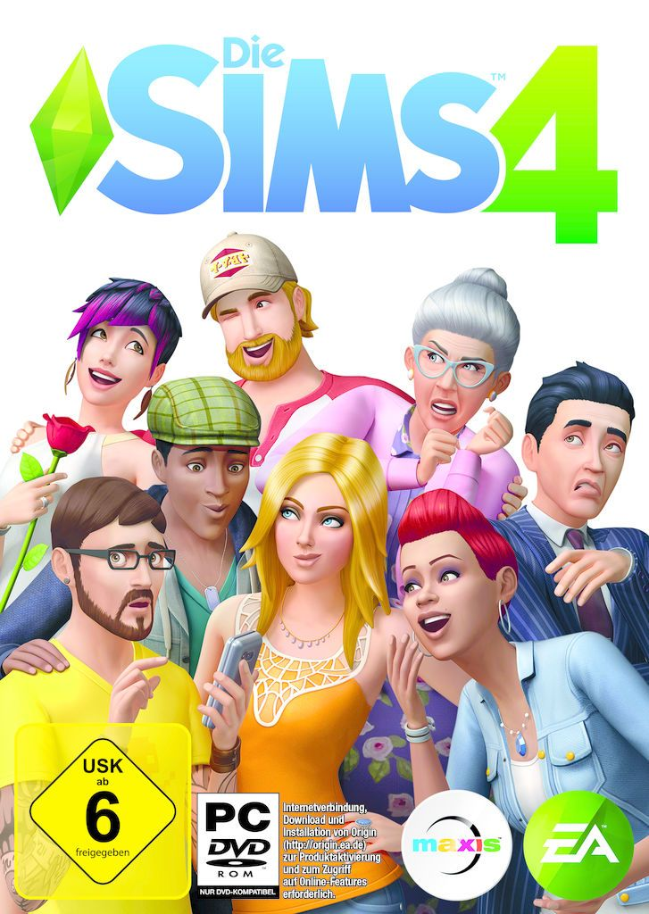 ELECTRONIC ARTS Die Sims 4 (PC Win) DE (Download)