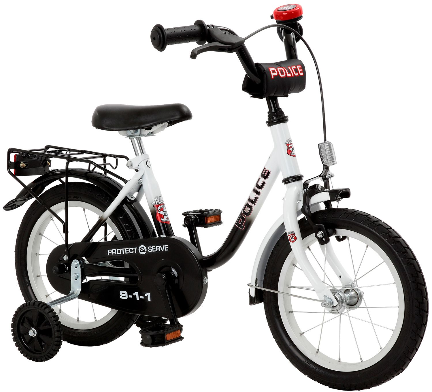 CYCLES4KIDS Cycles4Kids Kinderfahrrad »Police, 35,6 cm (14 Zoll)«