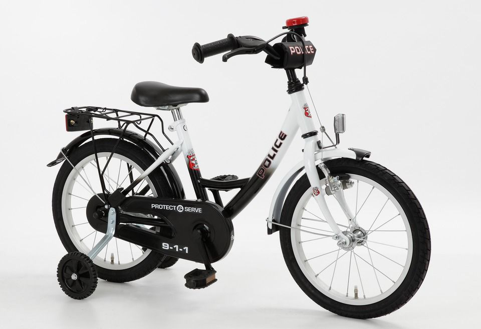 CYCLES4KIDS Cycles4Kids Kinderfahrrad »Police, 40,64 cm (16 Zoll)«