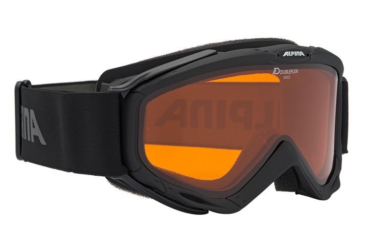 ALPINA SPORT Skibrille schwarz, Alpina, »SPICE«, Made in Germany