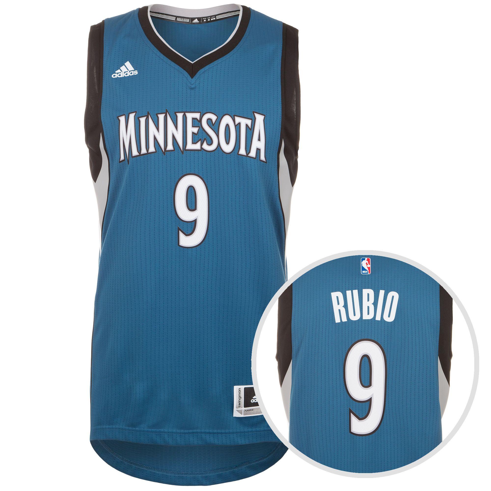 ADIDAS PERFORMANCE adidas Performance Minnesota Rubio Swingman Basketballtrikot Herren