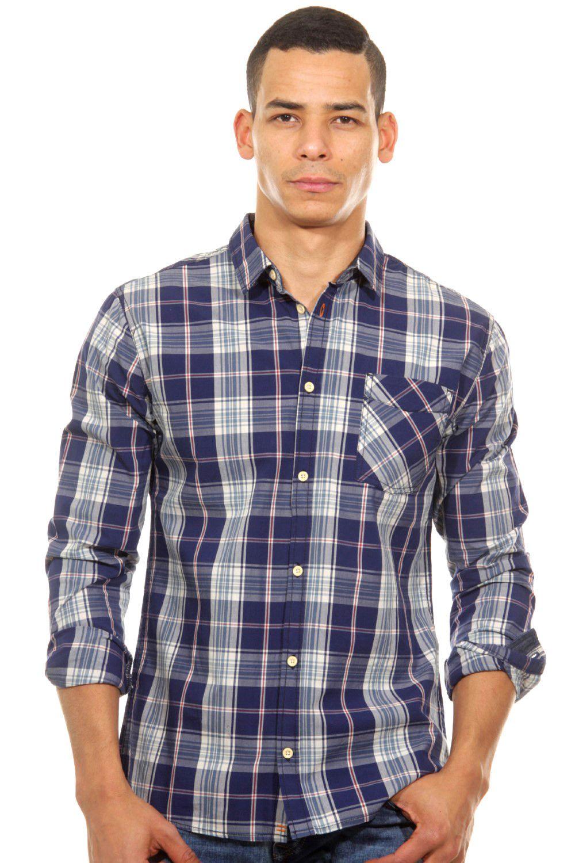 BLEND  Langarmhemd regular fit