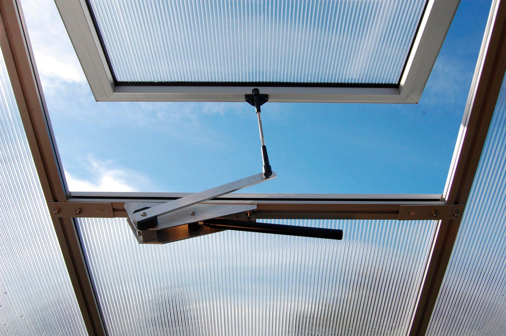 BECKMANN  Automatischer Dachlüfter , für Gewächshaus »Allgäu«, silberfarben
