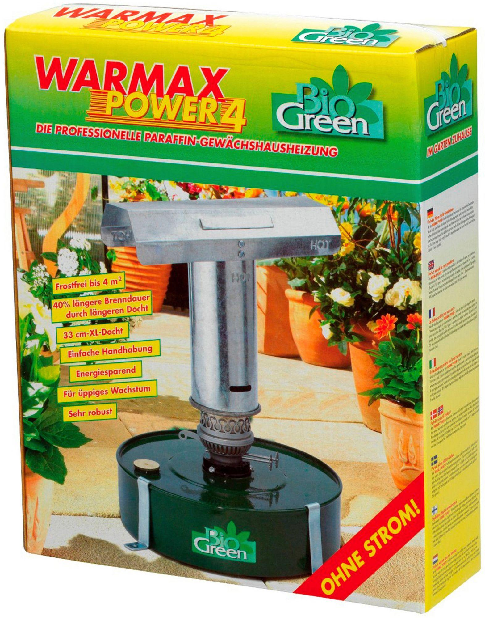BIOGREEN Biogreen Petroleumheizung »Warmax Power 4«, für Gewächshäuser bis 4 m²