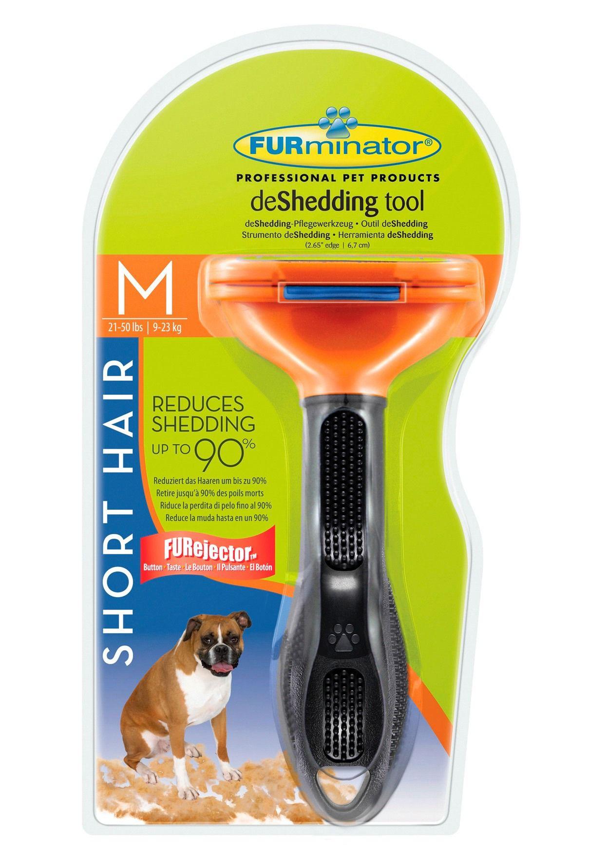 FURMINATOR Hunde-Pflegebürste »FURminator deShedding Kurzhaar M«