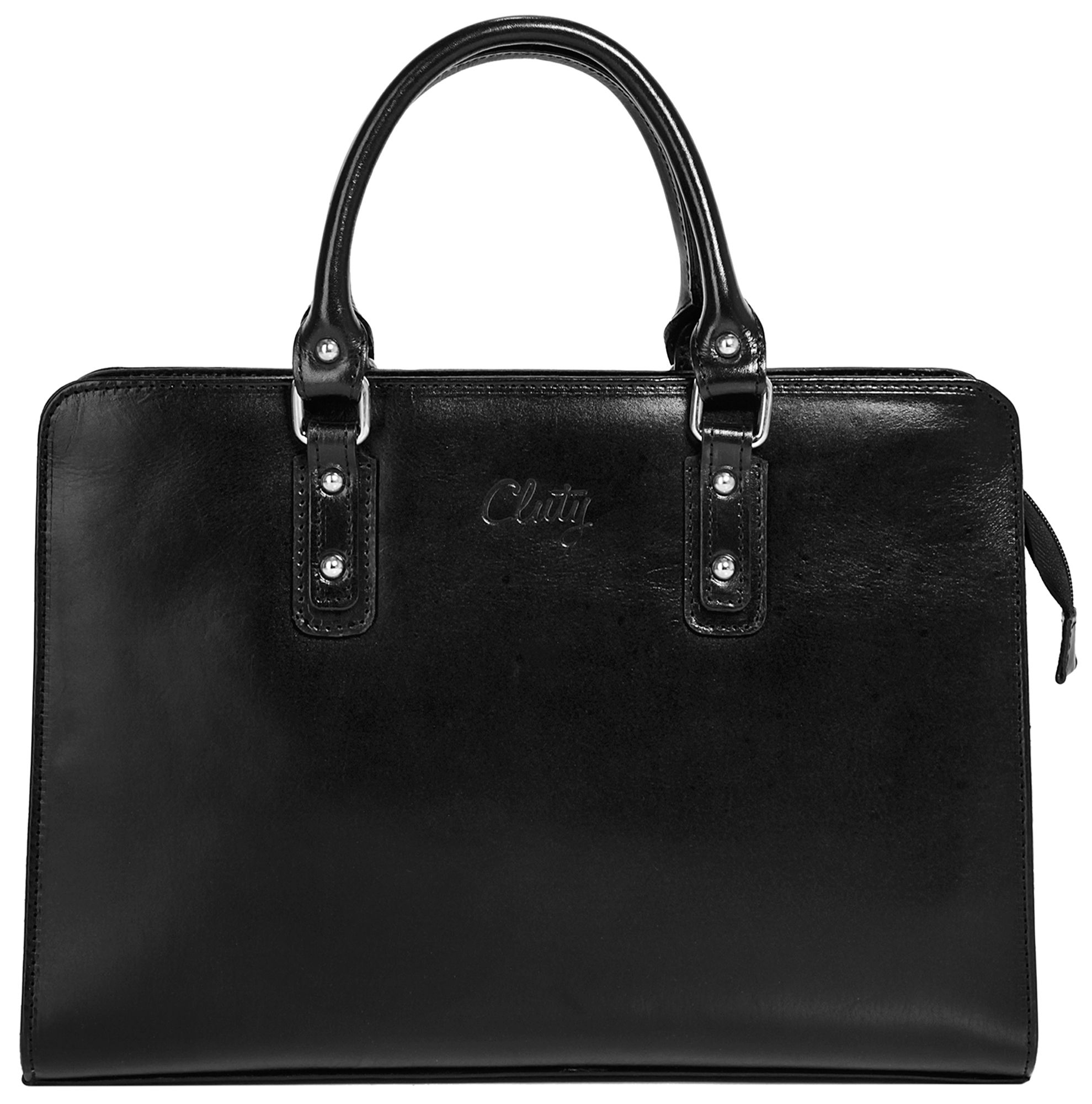 CLUTY Cluty Leder Damen Handtaschen